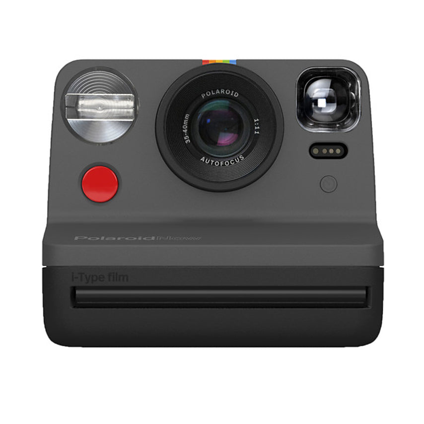 Polaroid Now Instant Film Camera - Black