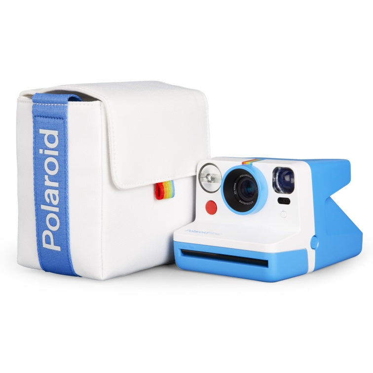 Polaroid Now Camera Bag - Blue and White
