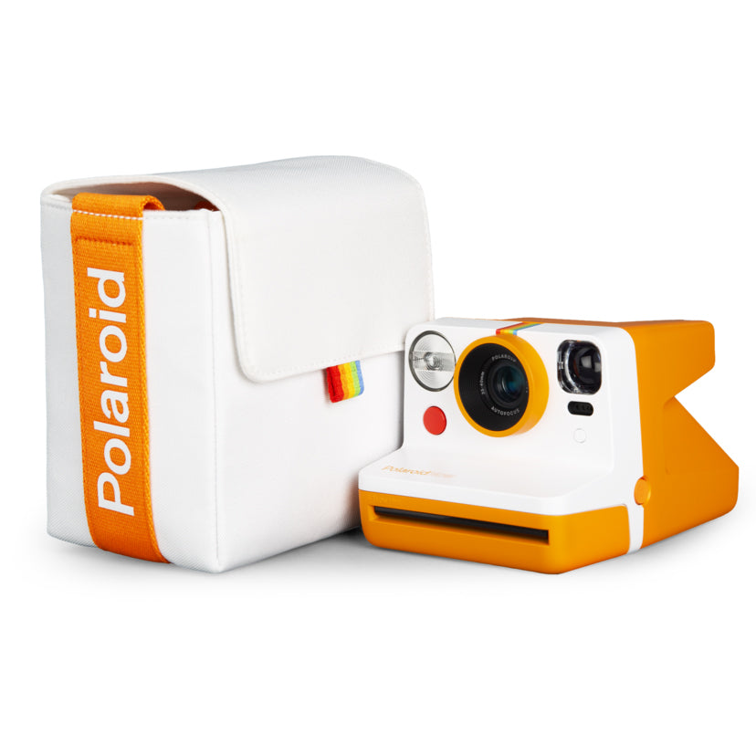 Polaroid Now Camera Bag - Orange and White