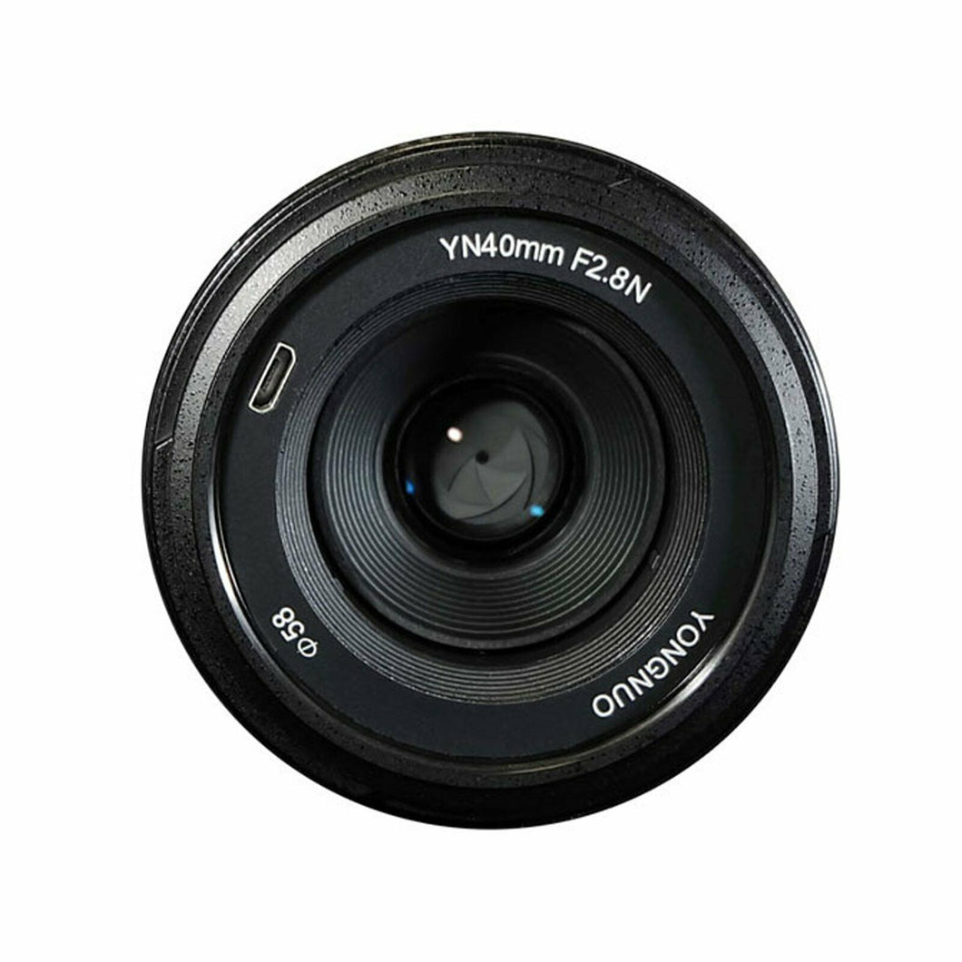Yongnuo YN 40mm f/2.8 Lens for Nikon Cameras