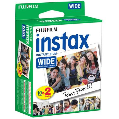 Fujifilm Instax Wide Instant Film - 20 Exposures