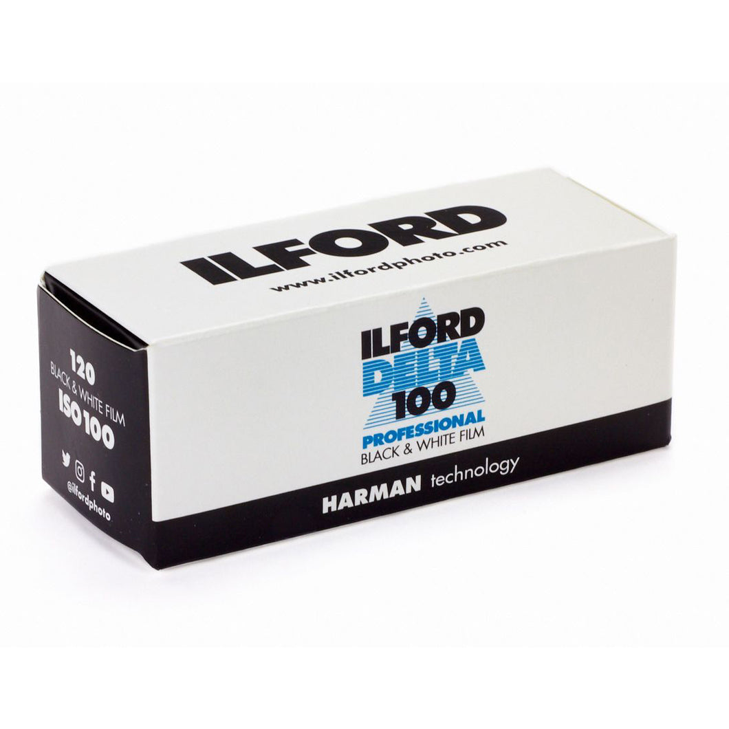 Ilford Delta 100 Professional Black and White Negative Film - 120 Roll Film