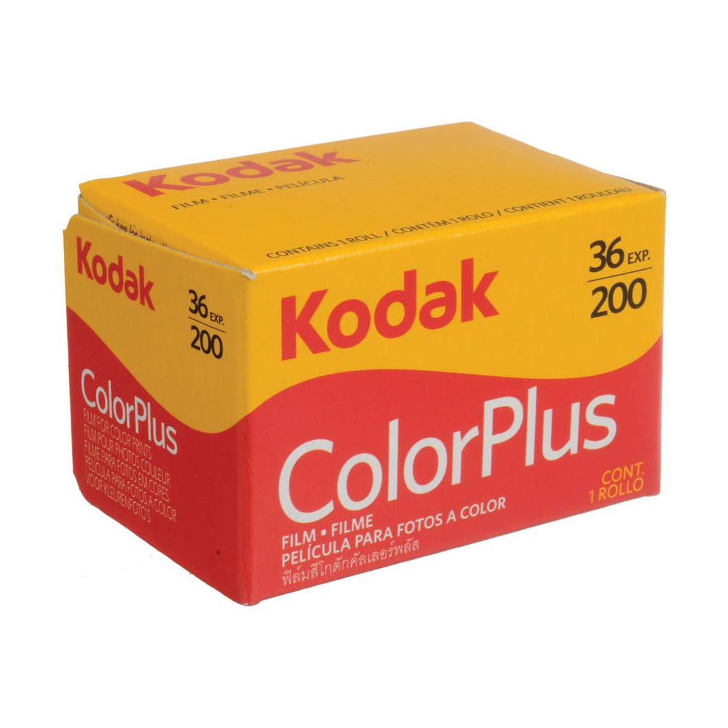 Kodak Color Plus 200 Color Negative Film - 35mm Roll Film - 36 Exposures