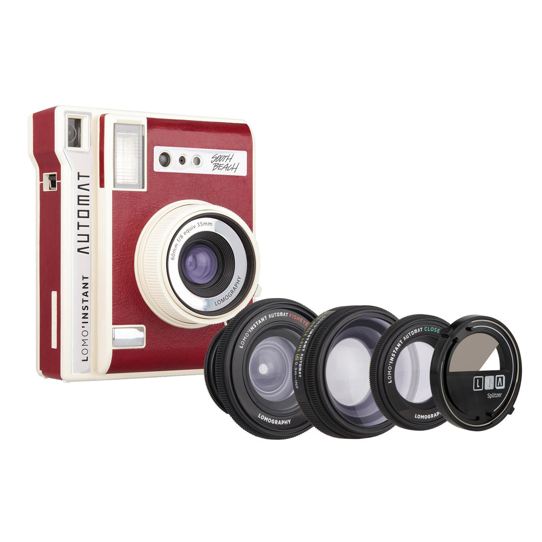 Lomography Lomo'Instant Automat and Lenses - South Beach Edition