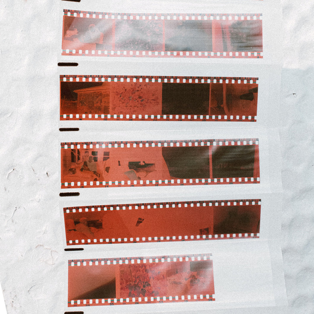 35mm Negative Strip Scans