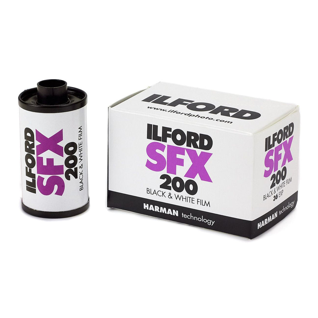 Ilford SFX 200 Black and White Negative Film - 35mm Roll Film - 36 Exposures