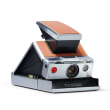 Load image into Gallery viewer, Polaroid SX-70 Instant Film Camera - Silver and Brown
