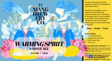 Load image into Gallery viewer, Warming Spirit - Saison Ale (6.3% ABV)