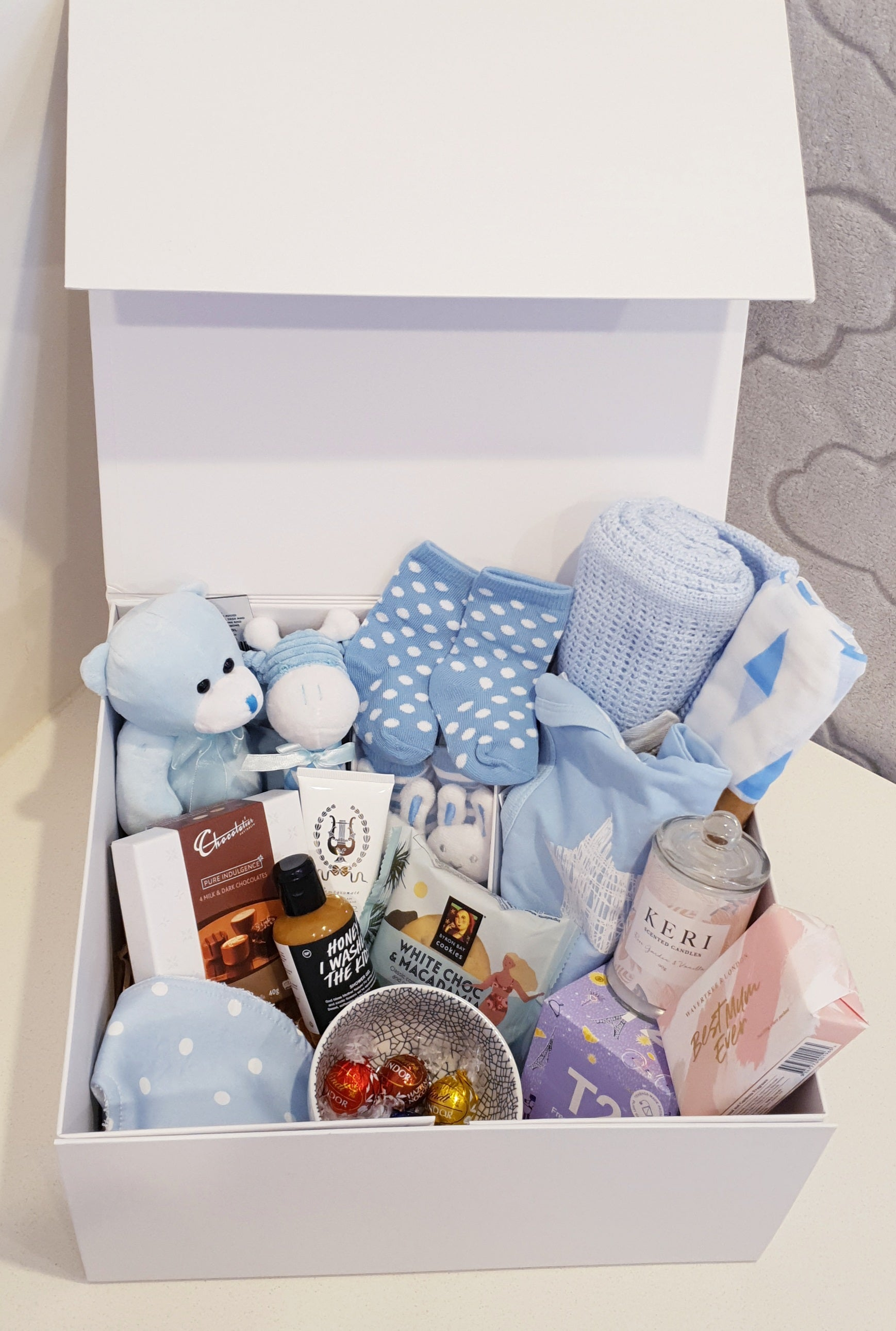 Mumma & Baby Ultimate Hamper - Baby Boy