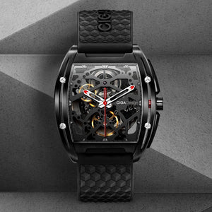 CIGA Design Z Series Mechanical Watch (DLC)
