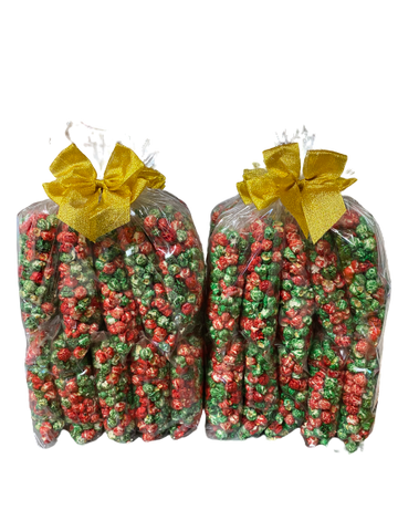 Green & Red Popcorn, 10-pack