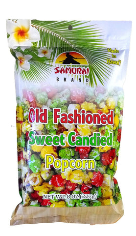 Packaged Popcorn: Old Fashioned Sweet Candied (8 oz.)