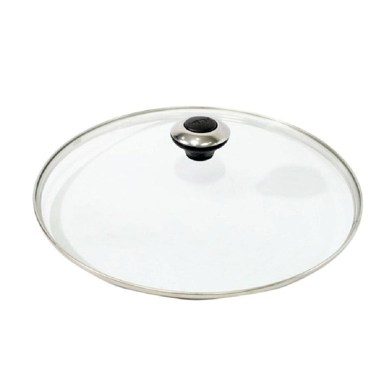 GLASS LID WITH N KNOB ขนาด 20 ซม. (16211-C)