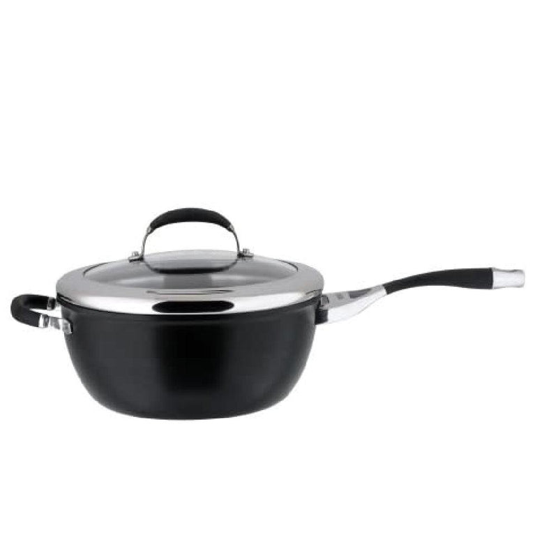 Circulon Elite Hard-Anodized กระทะ CHEF'S PAN WITH GLASS LID ขนาด 26CM (80941-T)