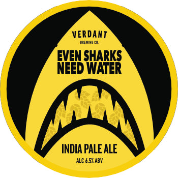 Even Sharks Need Water 6.5% IPA - 30L Kegstar