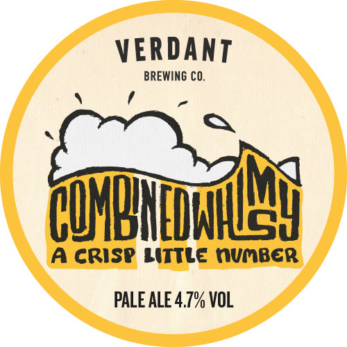 Combined Whimsy Pale Ale 4.7% ABV - 24 x 440 Case
