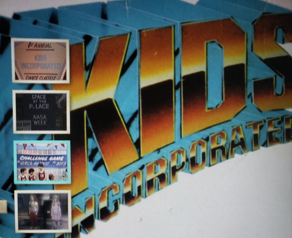KIDS INCORPORATED DVD THE COMPLETE SERIES SET