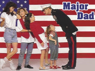 MAJOR DAD DVD THE COMPLETE SERIES DVD SET
