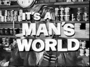IT'S A MAN'S WORLD (1962) COMPLETE TV SERIES DVD SET