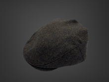 Load image into Gallery viewer, Brúnn flat cap