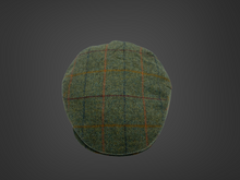 Load image into Gallery viewer, Grænn flat cap