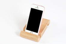 Load image into Gallery viewer, RAW Cell Phone/Tablet Holder - Oak