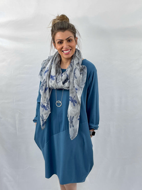 Cocoon Tunic Dress