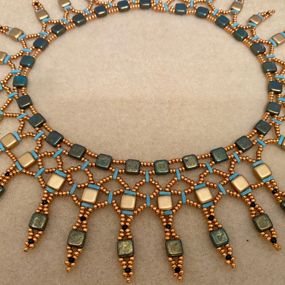 'Egyptian' style  collar  - SALE ITEM