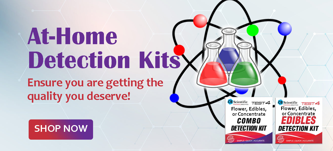 At-Home Flower, Concentrate, & Edible Detection Kit