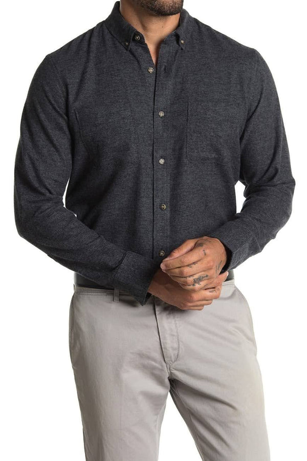 Wallin & Bros Black Button Up Shirt