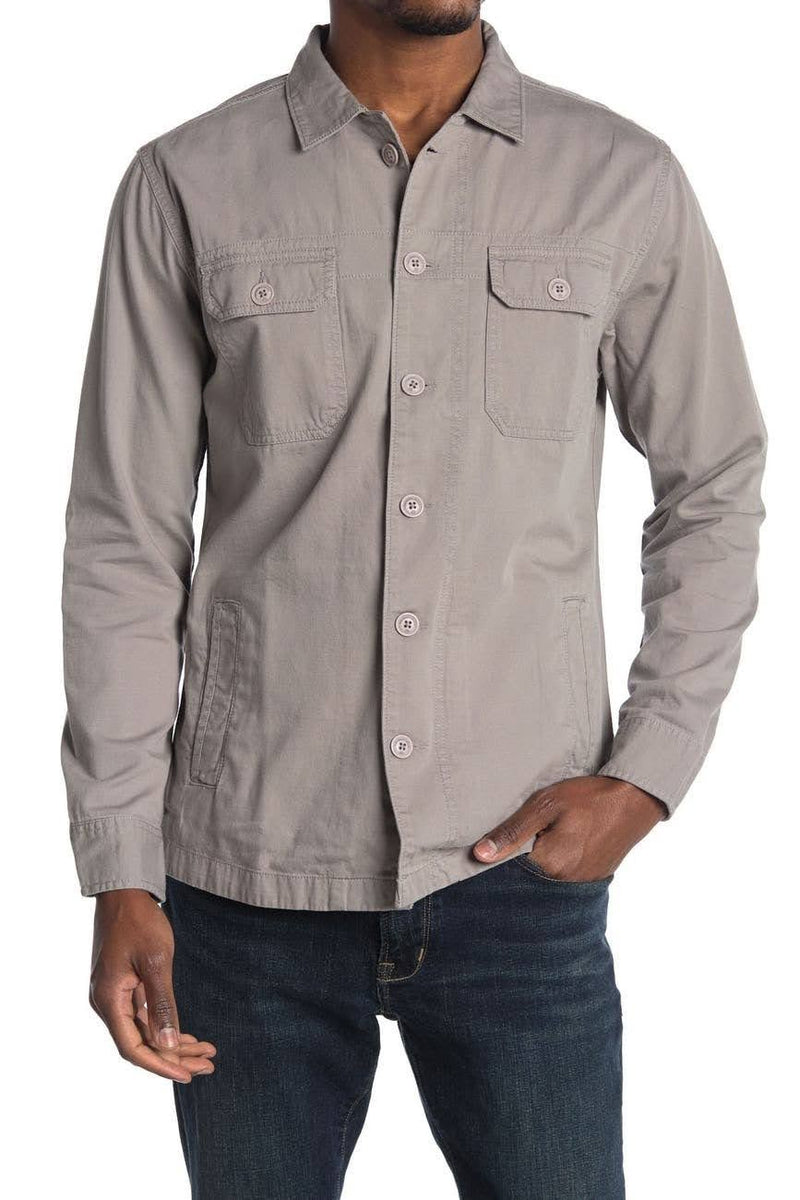 The Normal Brand Grey Military Jacket