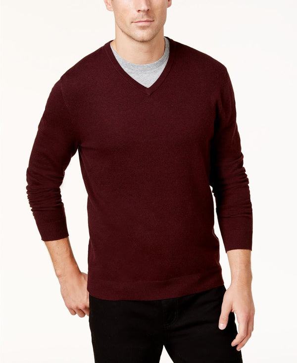 Alfani Port V-Neck Sweater