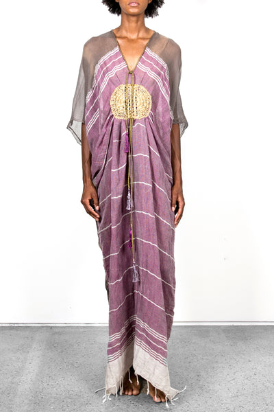 Hand-made Embroidered Caftan