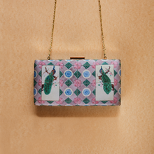 Load image into Gallery viewer, Blue Straits Peranakan Clutch