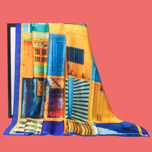 Load image into Gallery viewer, Enlightenment Print Scarf - Canary