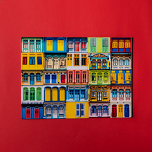 Load image into Gallery viewer, Signature Peranakan Placemats - Rowhouse Collage