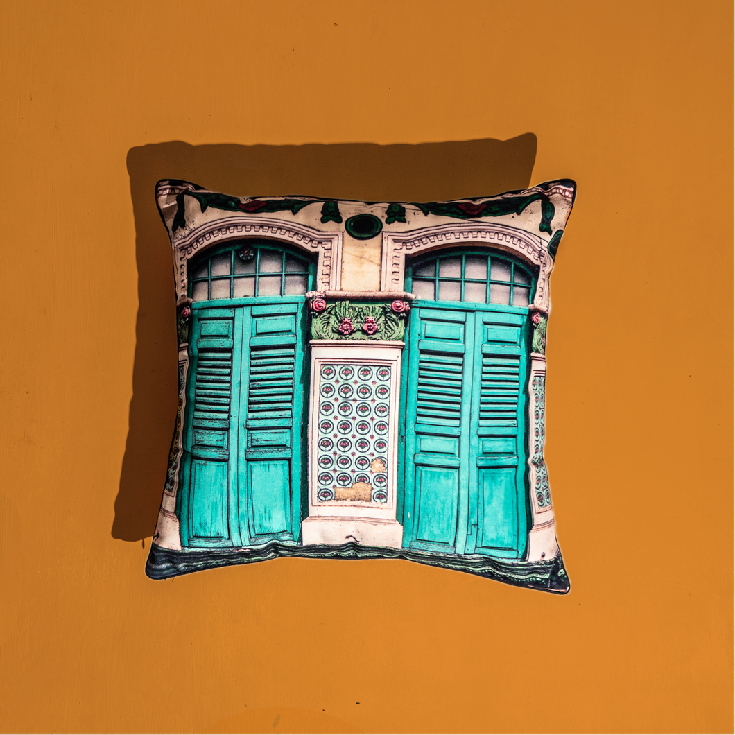 Timeless Heritage Cushion Cover - Turqouise