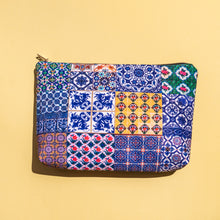 Load image into Gallery viewer, Chinatown Travel Pouch - Royal Blue