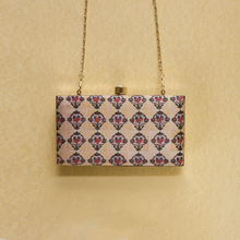 Load image into Gallery viewer, Peranakan Charm Rectangular Clutch - Cream