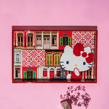 Load image into Gallery viewer, Hello Kitty x Photo Phactory Rowhouse Rectangle Tray - Barn Red