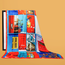 Load image into Gallery viewer, Scarlet Love Print Scarf