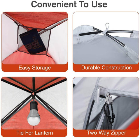 2/3 Person Camping Dome Tent