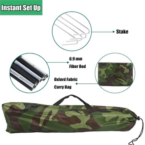 Camouflage Tents 2 Person Waterproof Tent