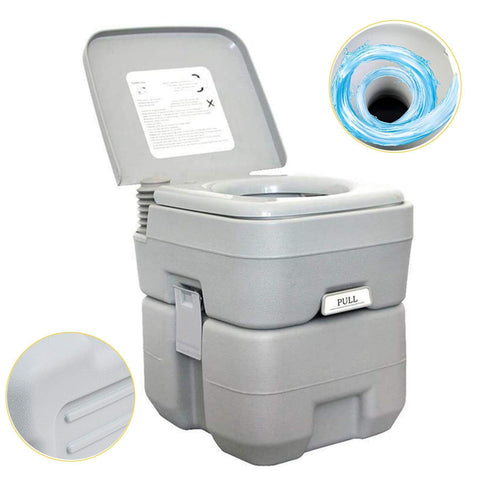 5.3Gallon 20L Portable Toilet 330LBS/150KG