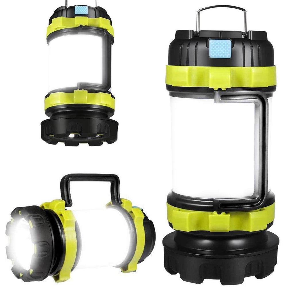 Usb LED Camp Lantern with 800LM 4 Modes IPX45 Water Resistant