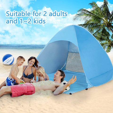 Image of 1-2 Person Pop Up Beach Tent