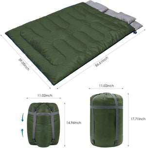 Double Lightweight Waterproof Sleeping Bag