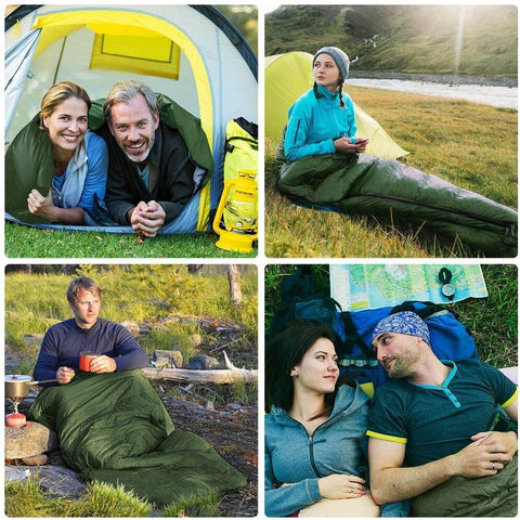 Image of Double Lightweight Waterproof Sleeping Bag