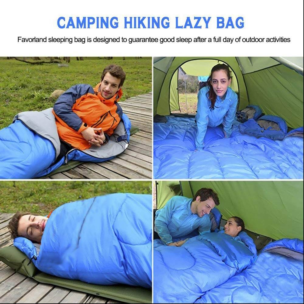 Lightweight 3 Season Weather Sleep Bags