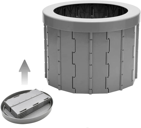 Image of Portable Toilet Seat (Gray)